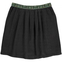 Agree Peacock Belted Skirt