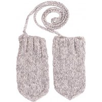 Cable Knit Cashmere Mittens