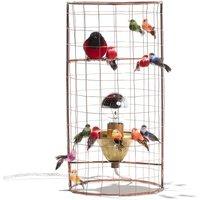Mini Adjustable Birdcage Lamp