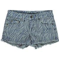 Zebra-striped Shorts