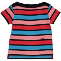 Boat Collar Striped T-shirt
