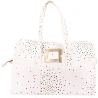 Ecru 48H Weekend Bag Confettis- Multi-Coloured Dots