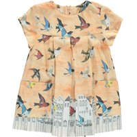Pleated Bird Evy Dress