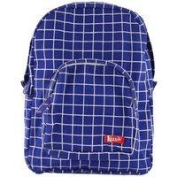 Kotak Medium Check Canvas Backpack