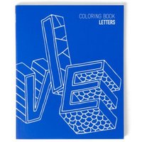 Letters - Colouring Book