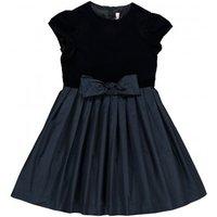 Bow Velvet Dress