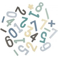 Boy's Magnetic Wooden Numbers Set