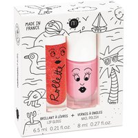 Holidays Nail Varnish and Gloss Rollette Duo