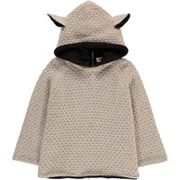 Alpaca Baby Burnous with Sheepskin Hood