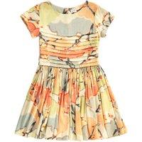 Floral Pleated Delsa Dress