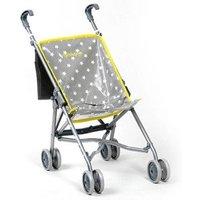 Grey Star Toy Pushchair