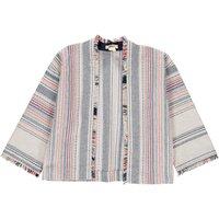 Abriga Striped Kimono Jacket