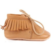 Pen Meximoo Leather Lace-up Slippers