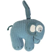 Crochet Musical Elephant Soft Toy