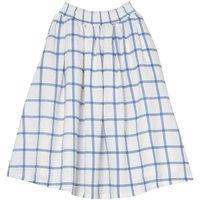 Lyndhurst Checked Long Skirt