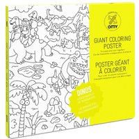 Dinos Giant Colouring Poster