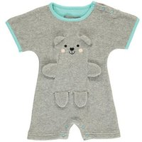 Boston Invisible Bear Towelling Playsuit