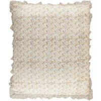 Blue Cognac Meadow Cushion Cover 90x105 cm