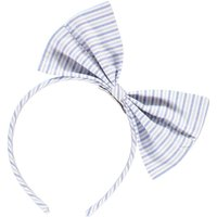 Jaunty Striped Bow Headband