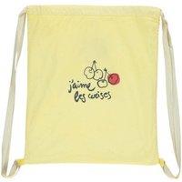 Cherries Linen Sports Bag