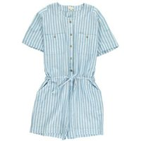 Barcelone Striped Playsuit