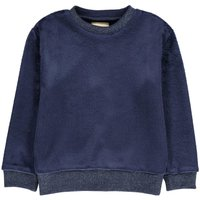 Anzi Lurex Collar Sweatshirt