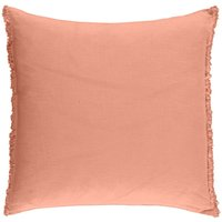 Washed Linen Square Cushion