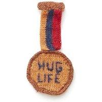 Hug Life Medal Brooch