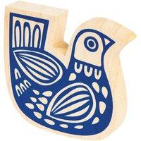 Folk Animals Wooden Decorative Bird