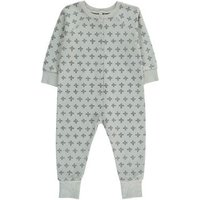 All-over Cross Jumpsuit With Buttons