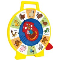 The farm says - Sound game to help learn animal names and sounds - Vintage Reedition