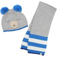 Bear Hat + Scarf Set