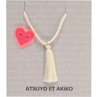 Lala Heart Pompom Necklace