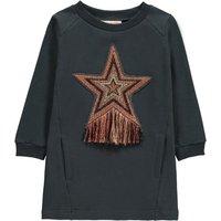 Molli Embroidered Star Fleece Dress