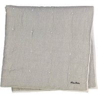 Cocon Lurex Gold Stripe Blanket