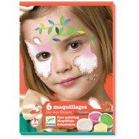 Flower Fairy Face Paint - Set of 6