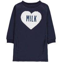 Molli Sequin Heart Fleece Dress
