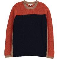 Greystoke Tricolour Angora Cashmere Wool Jumper