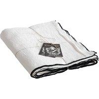 Bourdon Black Mesh Rectangular Tablecloth