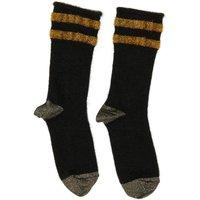 Rob Lurex Striped Baby Alpaca Wool and Mohair Socks