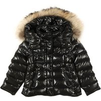 Armoise Fur Lined Hooded Jacket