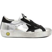 Velvet Lace-Up Superstar Trainers