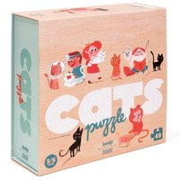 Cat Puzzle - 49 pieces