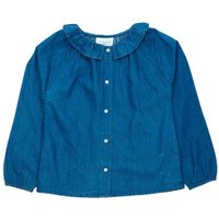 Angèle Chambray Blouse With Buttons