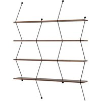 Black Climb Shelf 120cm, Bashko Trybek