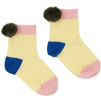 Philo Pompom Socks