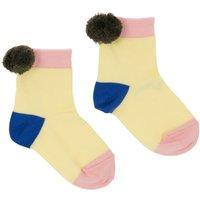 Philo Pompom Socks
