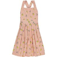 AthA(c)na Lemon Cherries Pinafore Dress