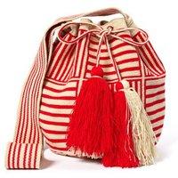 Big Wayuu Square Bucket Bag