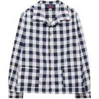 Wolf Apple Gingham Shirt